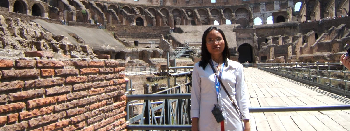 Sarinh in Rome